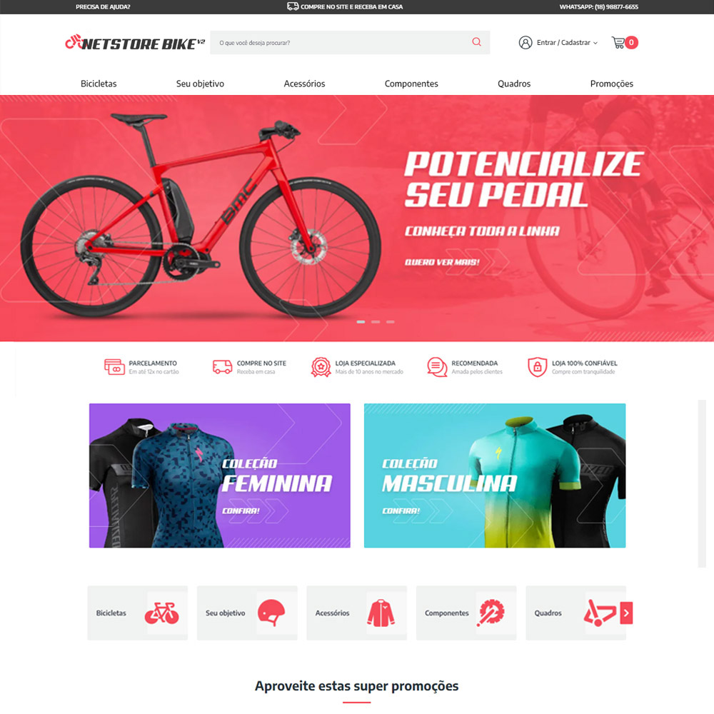 Cover Netstore 2.0 Bike