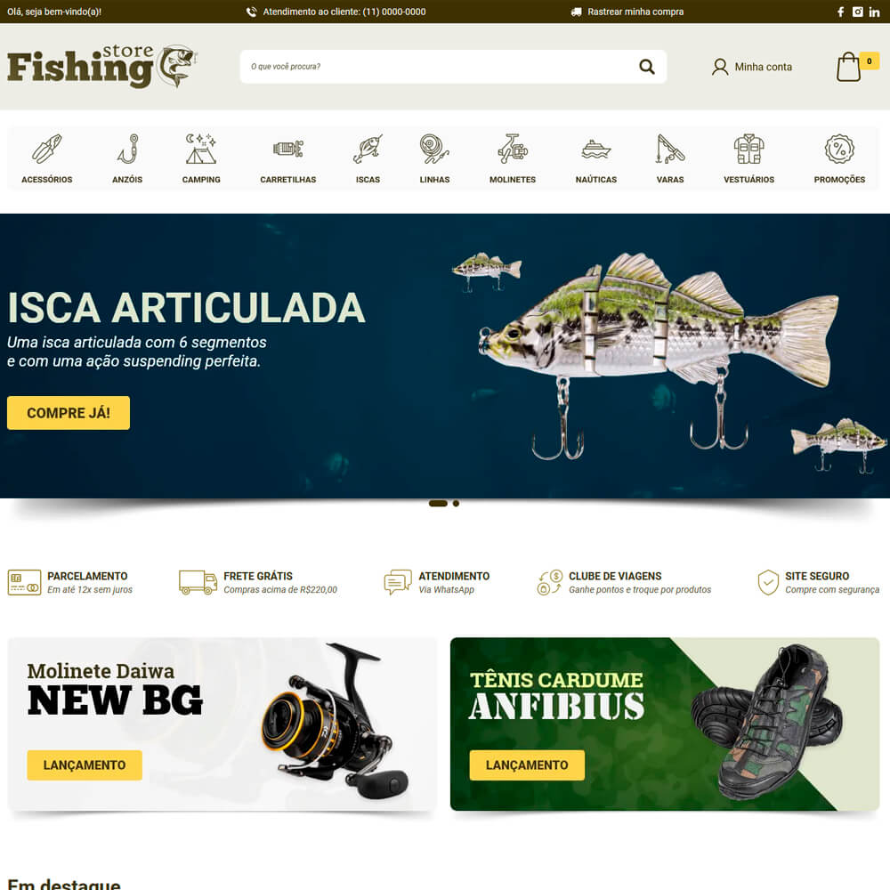 Cover Fishing Store