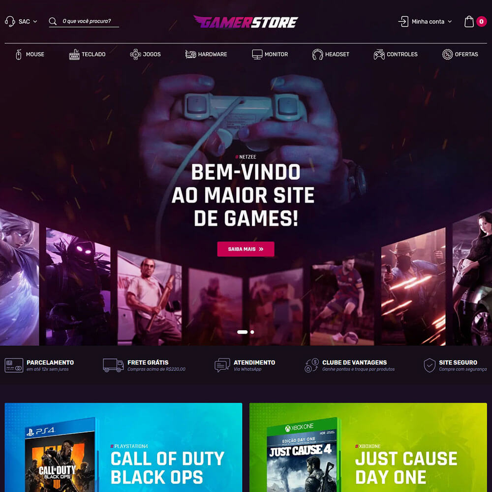 Cover Gamer Store