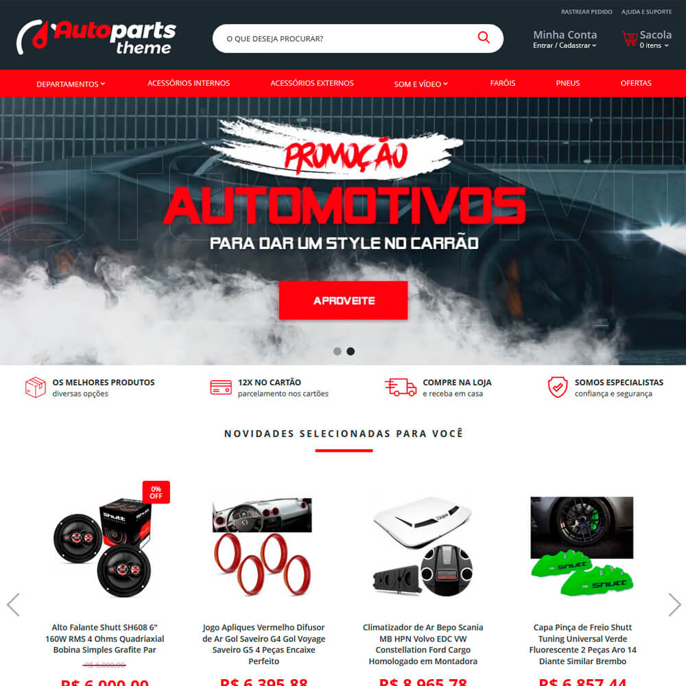 Cover Netstore Auto Parts