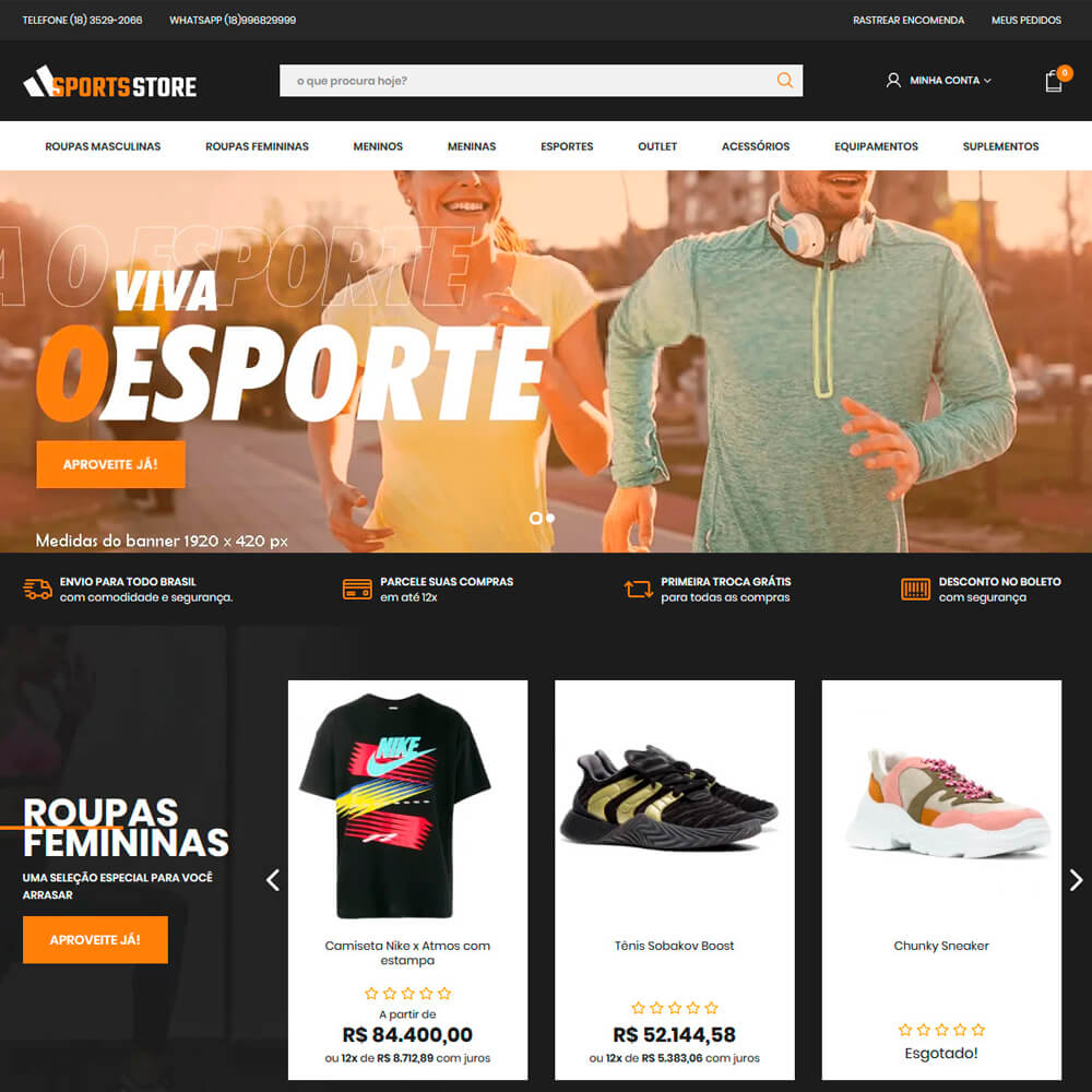 Cover Sports Store